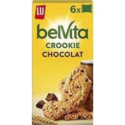 Belvita Petit Déjeuner - Crookie chocolat & 5 céréal...