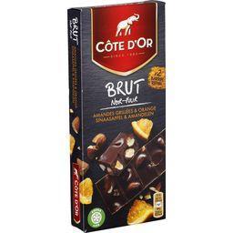Brut - Chocolat noir amandes et orange