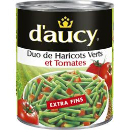 Duo de Haricots Verts & Tomates extra fins