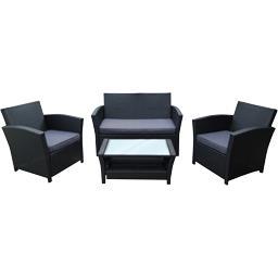 Salon 4 pièces Compact Luxe
