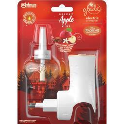 Glade Diffuseur électrique senteur pomme, cannelle et musc... le diffuseur de 20 ml