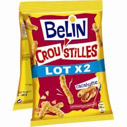 Croustilles Maïs soufflé cacahuète