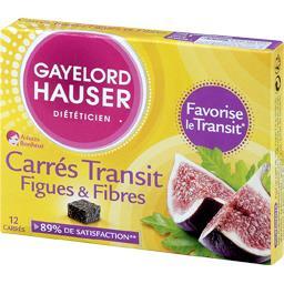 Carrés Transit figues et fibres