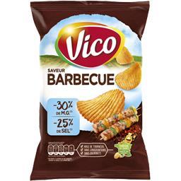 Chips saveur Barbecue allégées en matières grasses e...