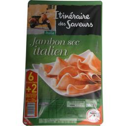 Itinéraire des Saveurs Jambon sec italien la barquette de 6 tranches - 133 g