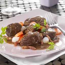 Bœuf bourguignon au pinot noir