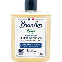 Briochin Fleur de Savon - Savon douche iris & pamplemousse le flacon de 400 ml