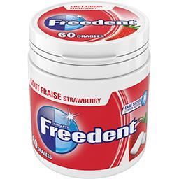 Freedent Chewing-gum goût fraise sans sucres