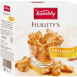Feuillety's - Biscuits feuilletés au fromage