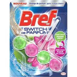 WC - Bloc WC Switch de Parfum pomme verte/fleur de l...