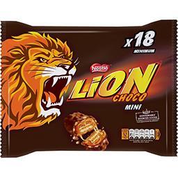 Lion - Mini barres chocolatées caramel & céréales