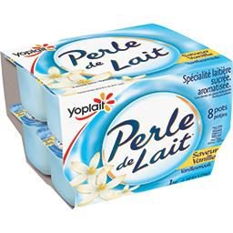 Perle de Lait - Spécialité laitière saveur vanille
