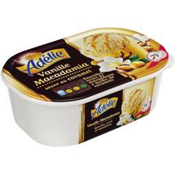 Crème glacée vanille macadamia