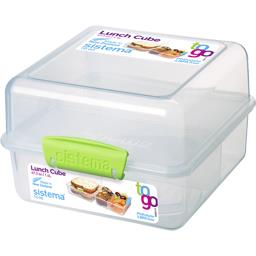 Boite alimentaire repas à clips Lunch Cube To Go 1,4...