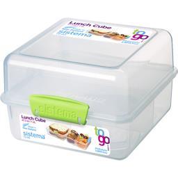 Boite alimentaire repas à clips Lunch Cube To Go 1,4 L