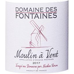 Moulin à Vent Domaine des Fontaines vin Rouge 2017