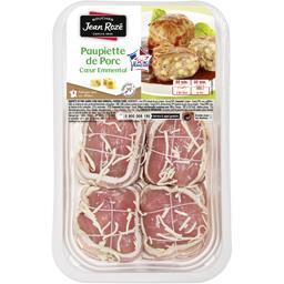 Paupiettes de porc fourrées à l'emmental