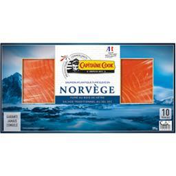 Saumon fume norvegien 10 tranches