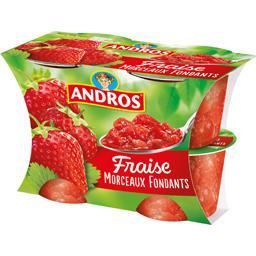 Délice en Morceaux - Dessert fraise