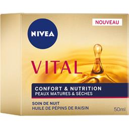 Vital - Soin de nuit Confort & Nutrition peaux matur...