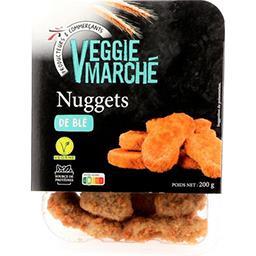 Veggie Marché Nuggets soja et blé la boite de 8 - 200 g