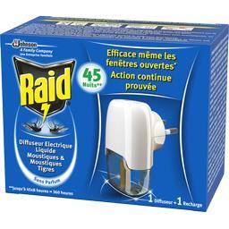 Diffuseur électrique liquide 45 nuits moustiques