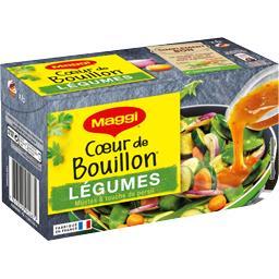 Maggi Cœur de Bouillon - Bouillon légumes mijotés & touche...