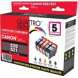 Pack cartouches d'encre compatibles Canon PGI-520/CL...