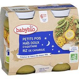 Bonne Nuit - Petits pois maïs doux d'Aquitaine riz B...
