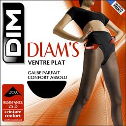 Collant Diam's ventre plat T 3