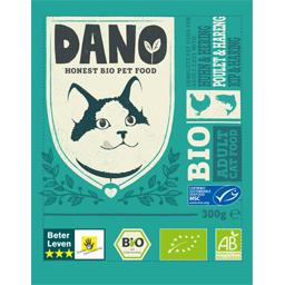 Dano Croquettes pour chat sans céréales poulet hareng BIO le sachet de 300 g