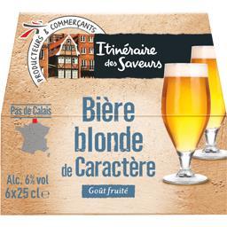 Bière blonde de caractère