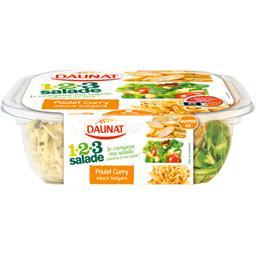 123 Salade - Salade poulet curry sauce bulgare