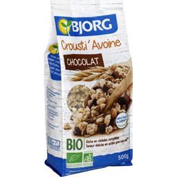 Céréales Crousti' Avoine chocolat BIO