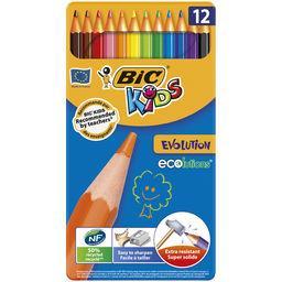 Kids - Crayon de couleur Evolution Ecolutions