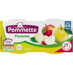 Purée pomme, dès 4/6 mois