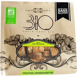 310 Bio Croquygnol amandes et noisettes sans gluten bio Le sachet de 150 gr
