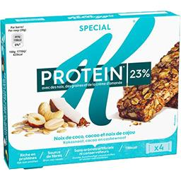 Barres de céréales Protein noix de coco