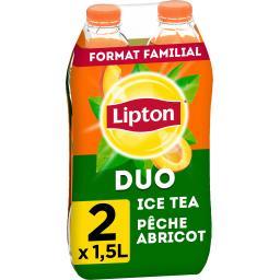 Boisson rafraîchissante ice tea saveur pêche - abric...
