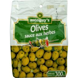 Olives sauce aux herbes