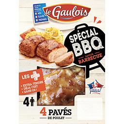 Pavés de poulet Spécial BBQ saveur barbecue