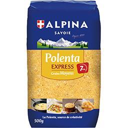 Alpina Savoie Polenta Express grains moyens sans gluten