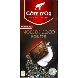 Chocolat noir intense noix de coco