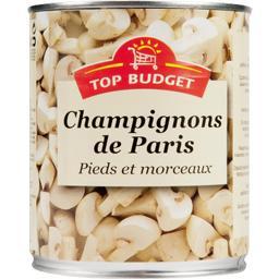 Champignons de Paris, pieds et morceaux
