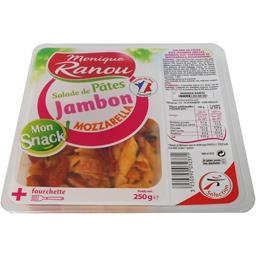 Salade de pâtes jambon mozzarella Mon Snack