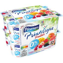 Printiligne - Yaourts Fruités 0% MG
