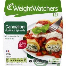 Cannelloni ricotta & épinards