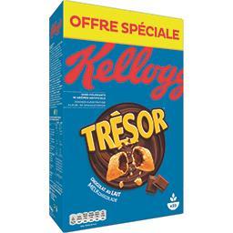 Kellogg's Trésor - Céréales fourrées chocolat au lait