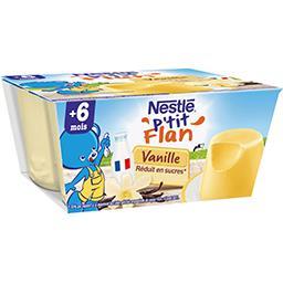 P'tit flan vanille, 6+ mois