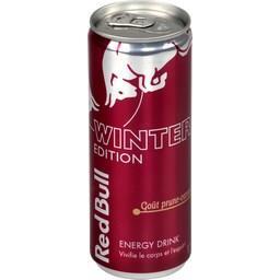 Energy Drink Winter Edition goût prune-cannelle